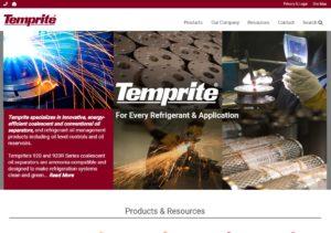 Temprite WordPress Website